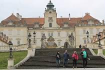 Valtický zámek, ilustrační foto