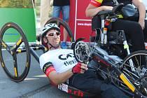 Miloš Bauer vyrazil z Brna na cyklistický maraton o délce 2222 kilometrů.
