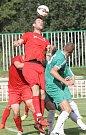 Hned druhé kolo fotbalového krajského přeboru přineslo střetnutí předních týmů Bystrce s Bohunicemi. V utkání dvou naprosto rozdílných poločasů byli nakonec šťastnější domácí po výhře 3:2.