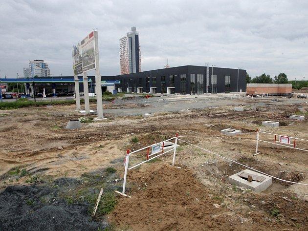 Obchodní centrum H-Park u Heršpické ulice v Brně.