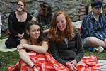 Veveří zaplnila keltská hudba. Při festivalu Lughnasad.
