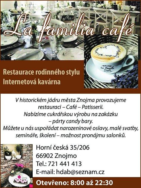 18. La familia café Znojmo
