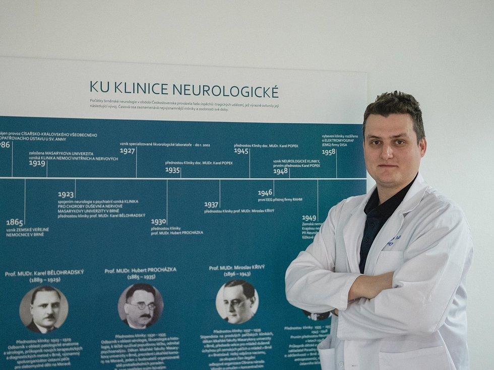 Neurolog Ondřej Volný.