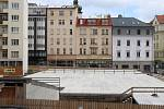 Město Brno získalo stavební povolení na výstavbu koncertního sálu Janáčkova kulturního centra, které už má hotovou hrubou stavbu podzemních garáží.