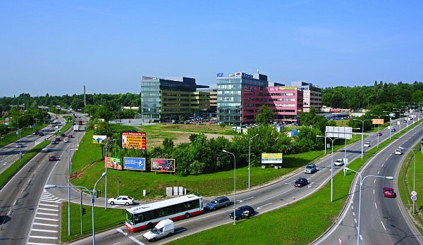 Vizualizace nové budovy vBrno Business Parku ubrněnského Ústředního hřbitova.