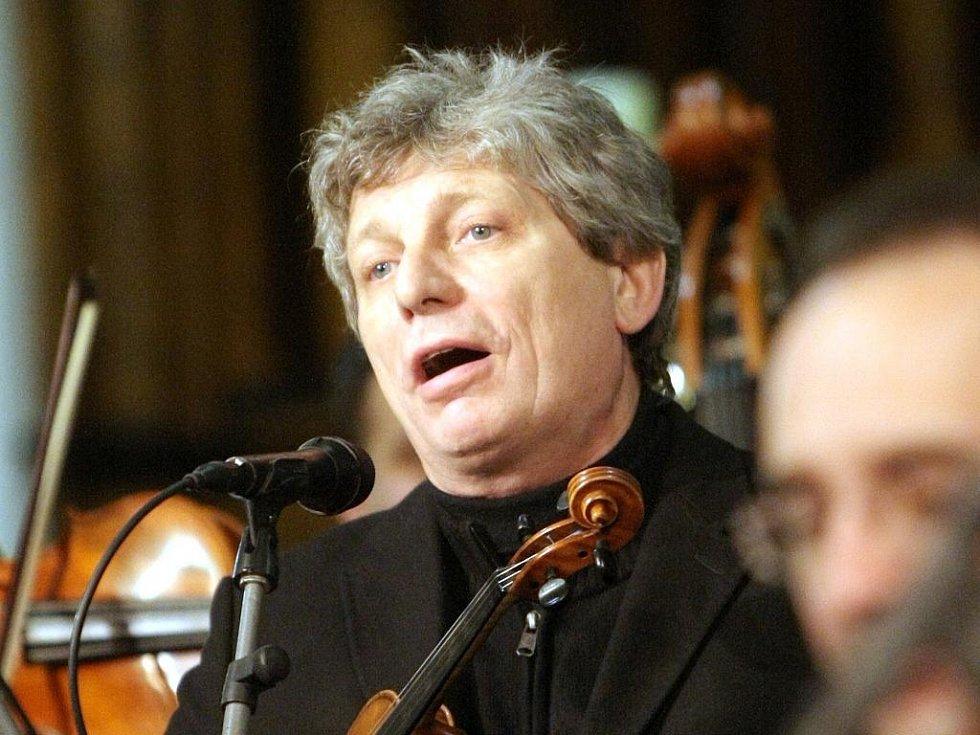 Koncert Hradišťanu v Katedrále Petra a Pavla v Brně.