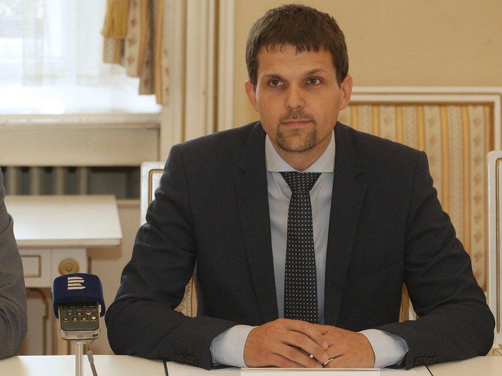 Nový první náměstek brněnského primátora Petr Hladík (KDU-ČSL).