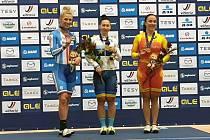 Dráhařka Kaňkovská skončila na mistrovství Evropy druhá v keirinu