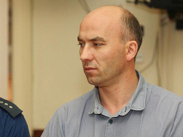 Petr Štýbl u brněnského soudu.