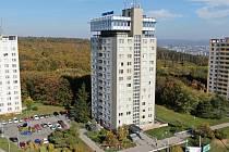 Vyhlídková restaurace Grand Prix v brněnských Kohoutovicích.