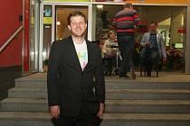 Spokojený Matěj Hollan z Žít Brno po komunálních volbách v roce 2014