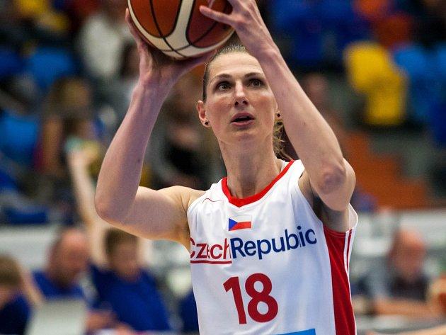 Basketbalistka Ilona Burgrová.