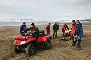 Do Brna se už vrátila část odborníků z Masarykovy univerzity, kteří byli na tradiční expedici v Antarktidě. Vědcům tentokrát mimořádně přálo počasí.