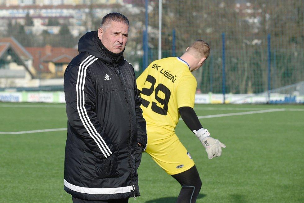 Brno 1.2.2020 - SK Líšeň - trenér Milan Valachovič