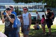Lidé se v sobotu kochali na brněnském výstavišti automobilovými i motocyklovými veterány. Konal se tam festival Brno Revival 2019.