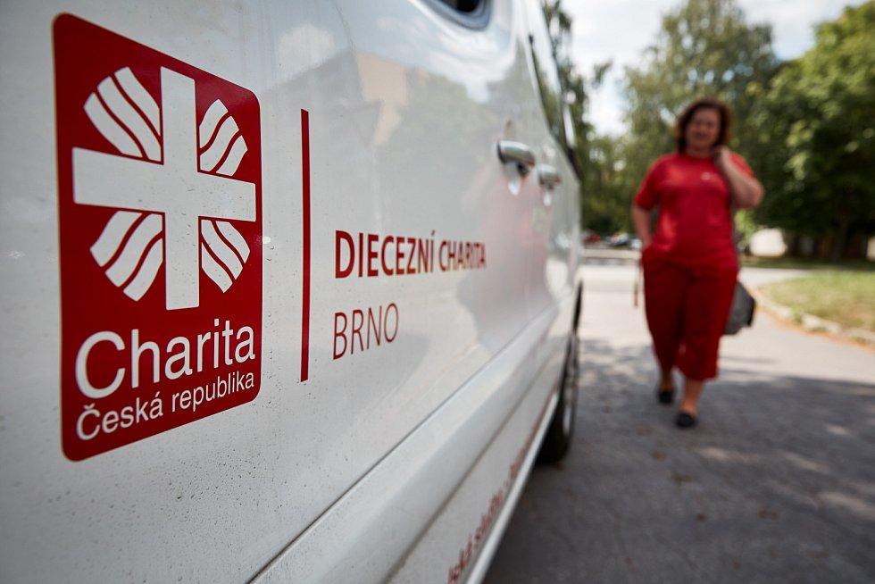 Diecézní charita Brno. Ilustrační fotografie.