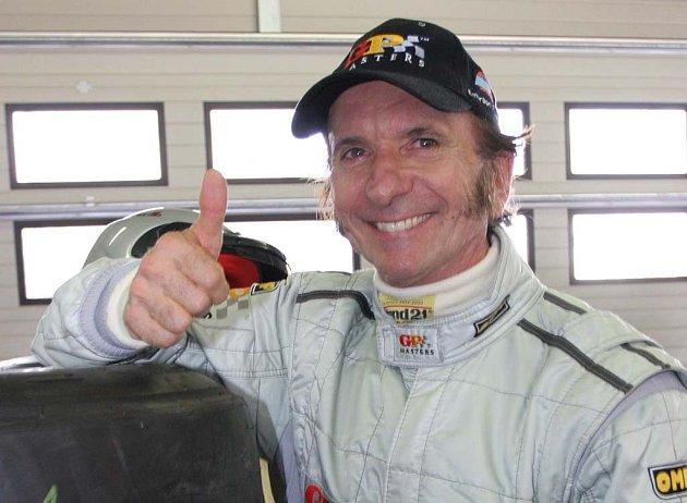 Emerson Fittipaldi přijíždí do Brna.