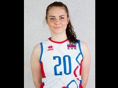 Volejbalistka Barbora Koseková.