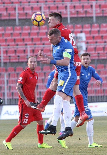 Zbrojovka porazila v prvním domácím zápase jarní části ligy Slovan Liberec těsně 1:0.