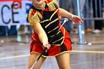 Mistrovství Evropy v mažoretkovém sportu se od pátku do neděle koná na brněnském výstavišti.
