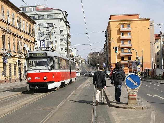 Ulice Milady Horákové - ilustrační foto.