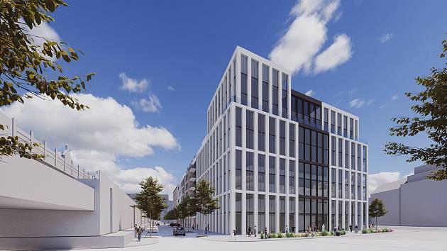 Vlastní výstavbu na nároží Nových sadů a Hybešovy ulice připravuje firma Brno New Station Development. Součástí projektu budou byty, kanceláře nebo komerční prostory.