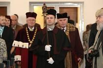 Inaugurace nového rektora Mendelovy univerzity.