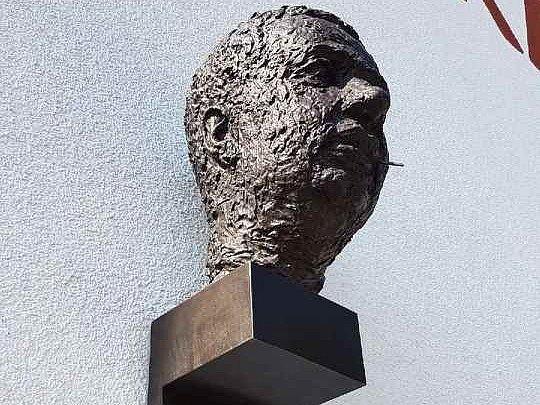 Busta Vladimíra Menšíka