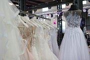 O inspiraci pro budoucí nevěsty se postaralo sto padesát vystavovatelů při svatební show vedle obchodního centra Vaňkovka.