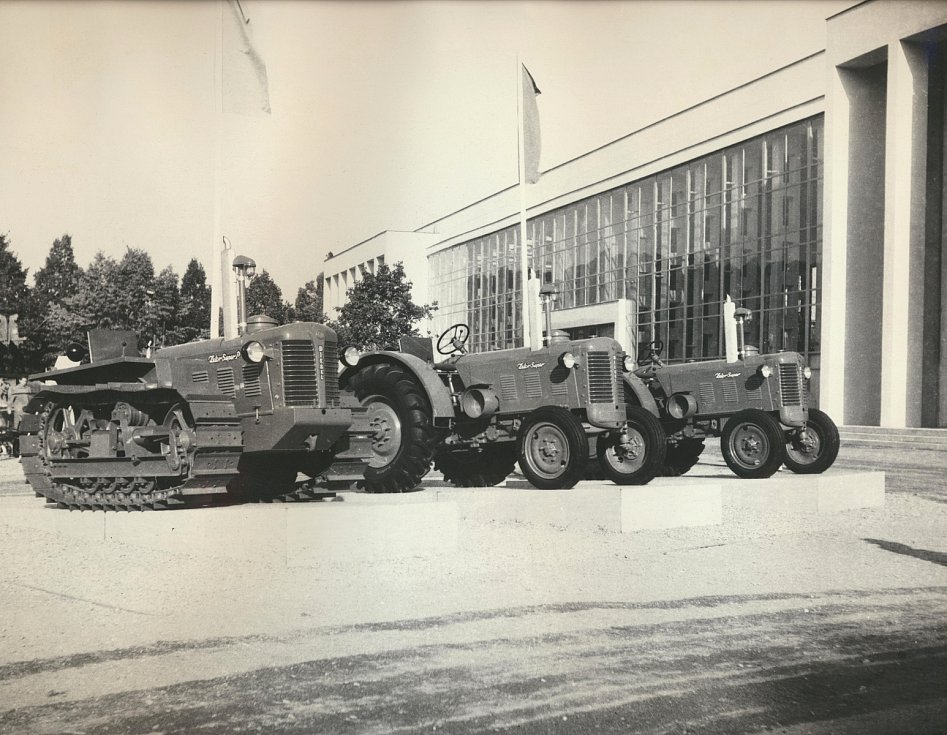 Zetor Super a Super P v roce 1956.