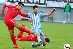 29. kolo F:NL: Prostějov (modro-bílá) - Zbrojovka (červená - David Krška) 0:0