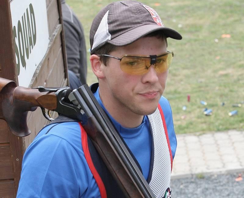 Střelec Jakub Tomeček.