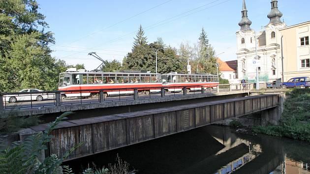 Zábrdovický most před opravou. Ilustrační foto.