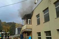 V Lomnici u Tišnova hořel rodinný dům.