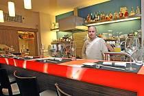 Bar Sushi Ya na náměstí Svobody.