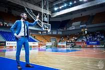 Trenér brněnských basketbalistů Lubomír Růžička.