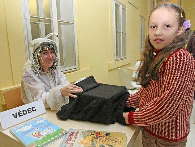 Akci nazvanou Den pro dětskou knihu uspořádala Knihovna Jiřího Mahena v Brně.