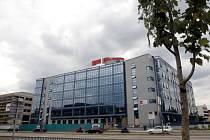 Justiční areál v Heršpické ulici.
