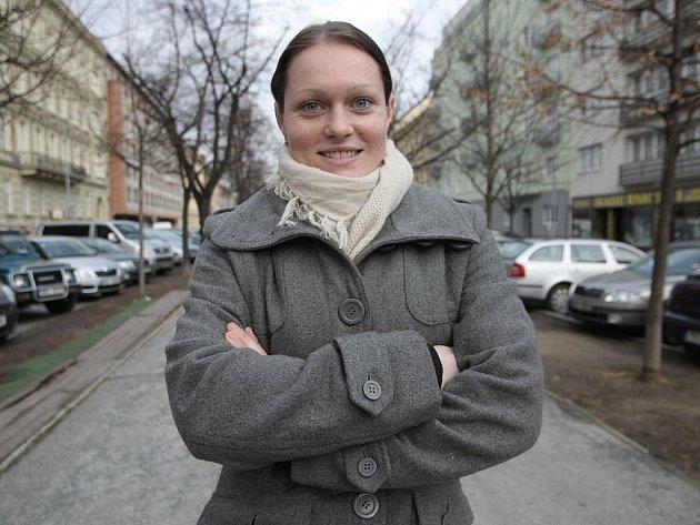 Brněnská zápasnice ve volném stylu Lenka Martináková.