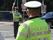 Finále celostátní soutěže nejlepších dopravních policistů hostilo Brno.