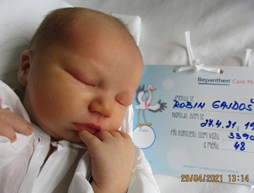 Robin Gajdoš, 27. 4. 2021, Mikulčice, nemocnice Břeclav, 3390 g, 48 cm