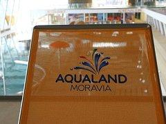 Aqualand Moravia v Pasohlávkách.
