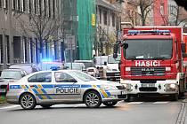 V Šámalově ulici v Brně-Židenicích našli policisté 9. prosince 2019 v bytě mrtvého muže a velké množství chemikálií.