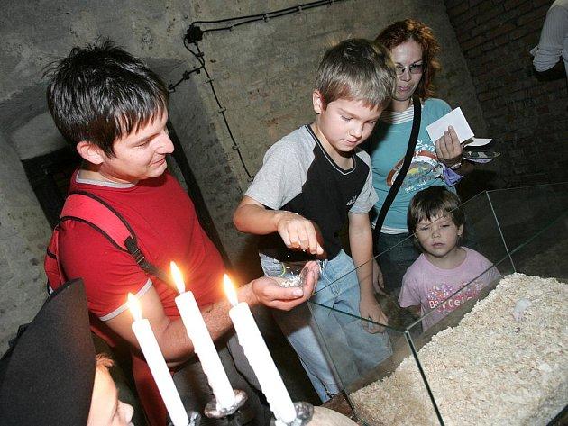 Děti se zúčastnily hry Tajemná pevnost Špilberk, při které plnily spoustu různých úkolů.