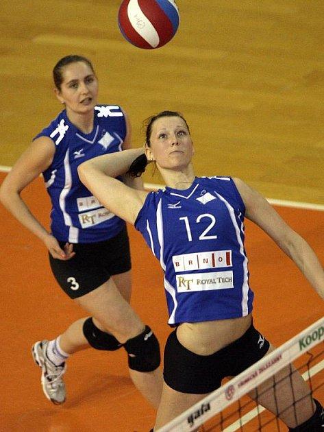 Volejbalistky KP Brno - ilustrační fotografie.