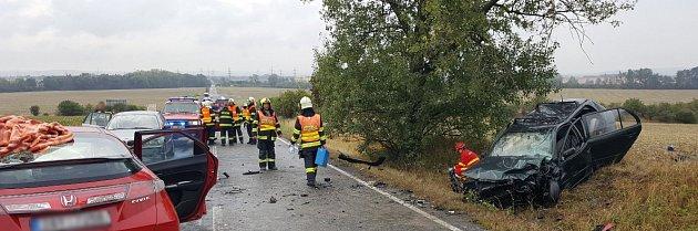 Vážná dopravní nehoda uSokolnic