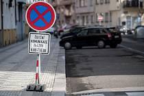 Blokové čištění ulic.