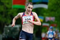 Tereza Ďurdiaková skončila na květnovém evropském šampionátu družstev v Poděbradech v chůzi na 35 kilometrů devátá.