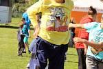 Na koupališti v Komárově se uskutečnil v neděli Wannado Festival. Děti přišli pozdravit i známí sportovci Lucie Šafářová a Tomáš Plekanec.