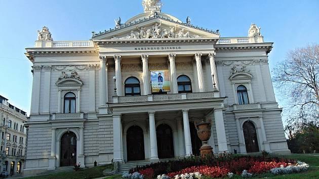 Mahenovo divadlo v Brně.